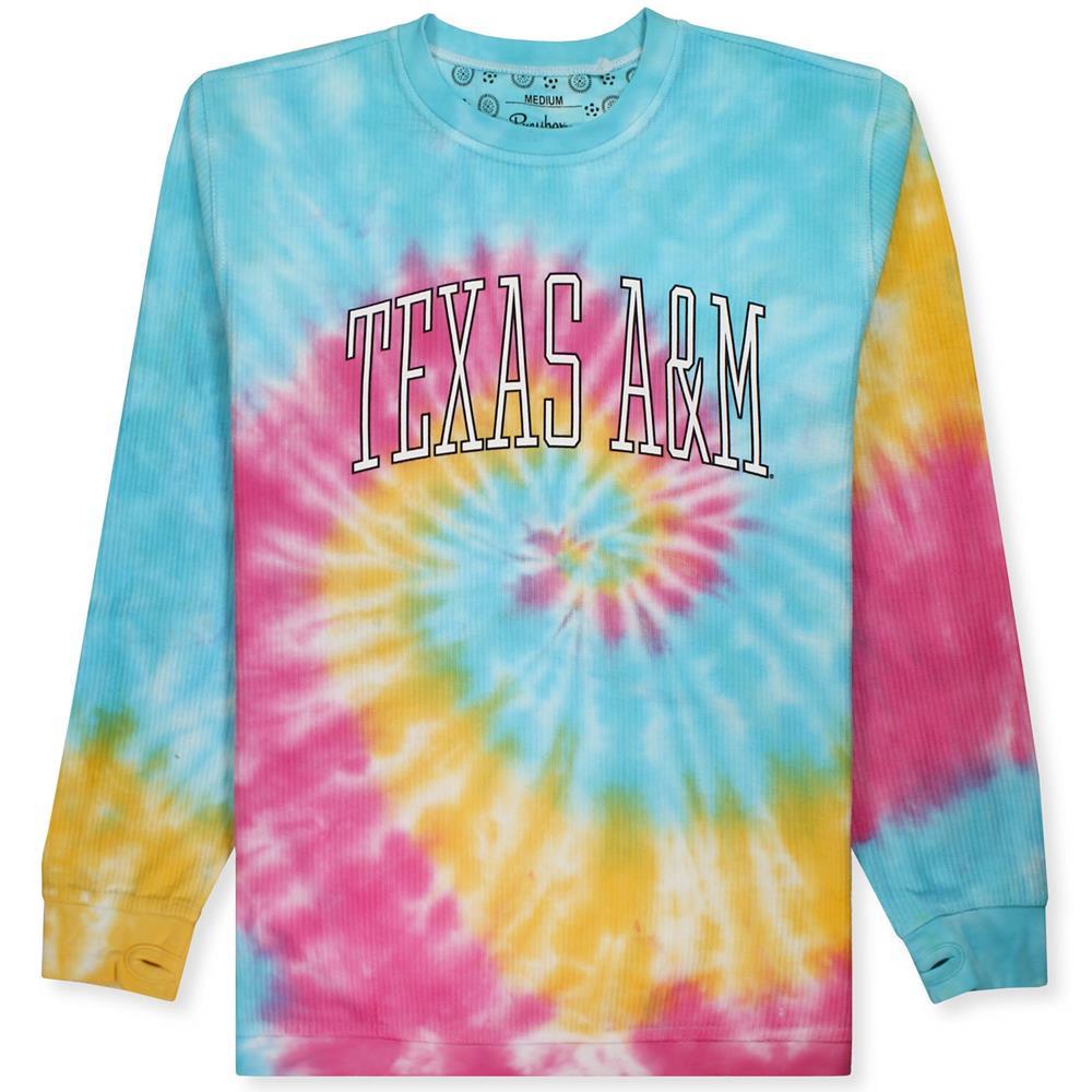Womens medium Texas A/&M tie dye t-shirt Junior sized tee