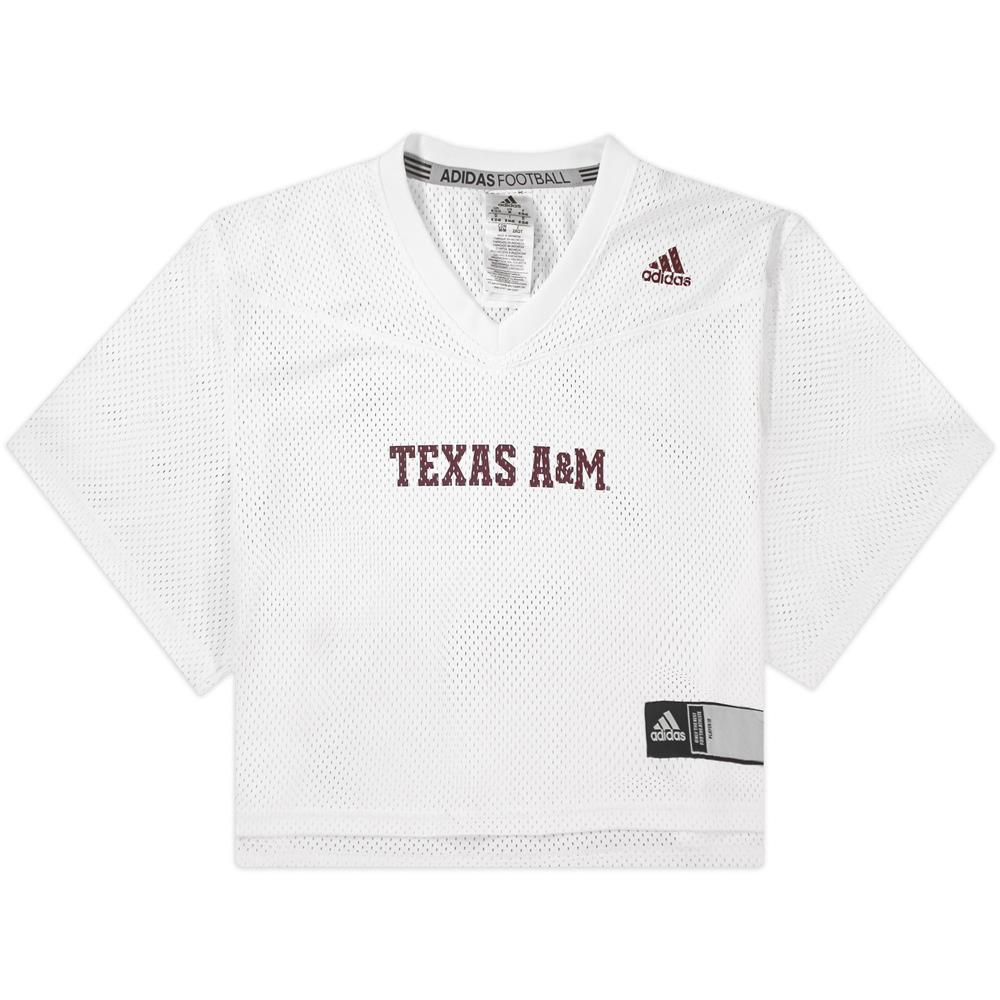 Texas A&M Adidas Women's Crop Jersey