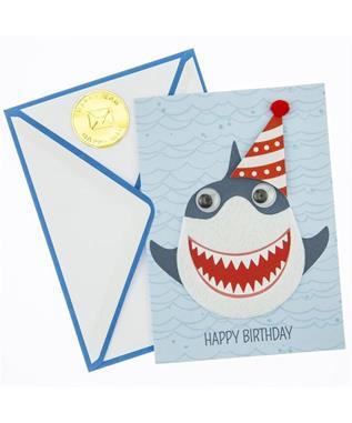 BIRTHDAY CARD - SHARK