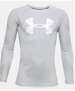 Boys UA Tech Logo Fill Long Sleeve