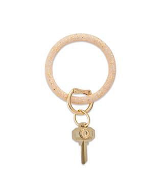 Confetti Silicone Big O Key Ring