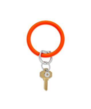 Bright Silicone Big O Key Ring