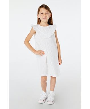 GIRLS EYELET AFTON DRESS