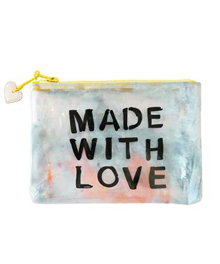 MADE WITH LOVE VINYL CLUTCH