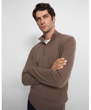 Quarter-Zip Sweater in Cashmere