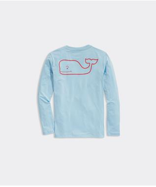 L/S WHALE PERFORMANCE TEE