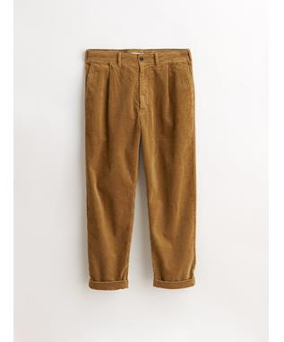 STANDARD PLEATED PANT IN RUGGED CORD