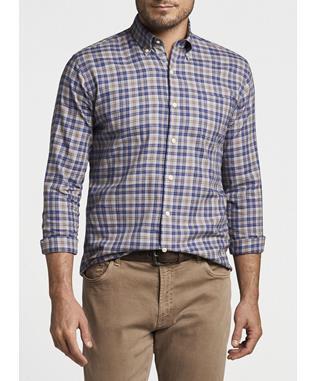 Autumn Soft Greenwood Cotton Sport Shirt