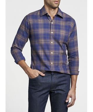 Autumn Soft Thompson Cotton Sport Shirt