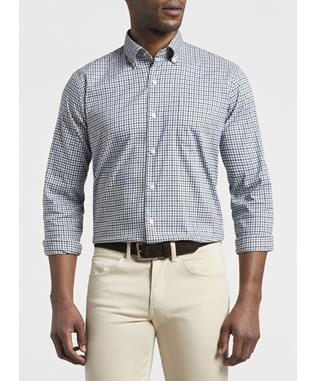 Crown Lite Nelson Cotton-Blend Sport Shirt