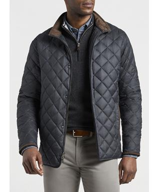 SUFFOLK QUILTED TRAVEL COAT