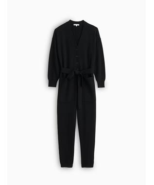 KNITTED SWEATER JUMPSUIT