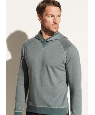 TWILL POPOVER HOODIE