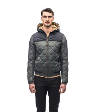 ELROY QUILTED HOODED JACKET