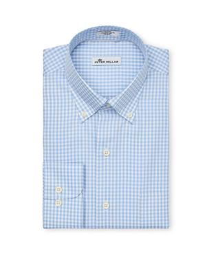 CROWN SOFT GINGHAM SPORT SHIRT