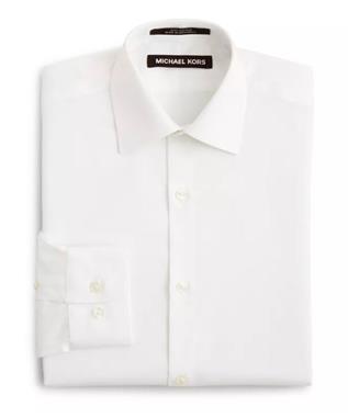 BOYS KORS WHITE DRESS SHIRT