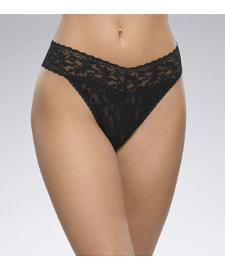 RISE THONG LACE ORG