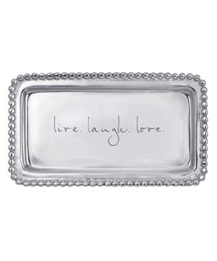 LIVE LOVE LAUGH TRAY
