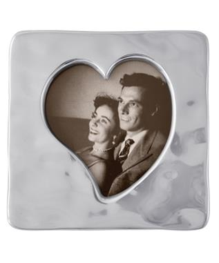 SMALL SQUARE OPEN HEART FRAME