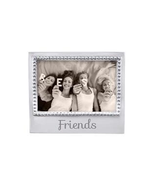 FRIENDS BEADED 4 X 6 FRAME