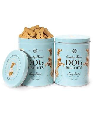 BIRD DOG BISCUIT TIN