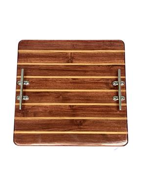 16 X 16 TEAK AND HOLLY BOARD