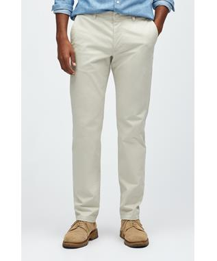 STRETCH WASHED CHINO TAILORED