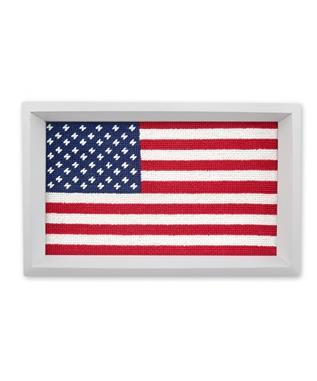 BIG AMERICAN FLAG VALET TRAY