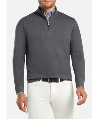 CROWN COMFORT INTERLOCK QTR ZIP