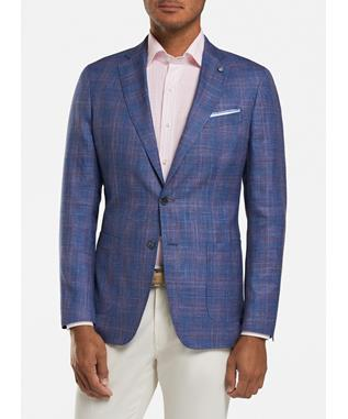 MARINA WINDOWPANE SOFT JACKET