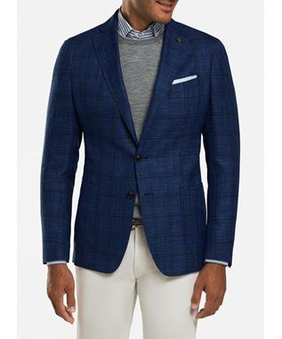 NAPOLI WINDOWPANE SOFT JACKET