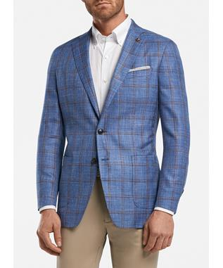 RUE WINDOWPANE SOFT JACKET