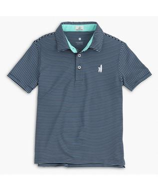 MERRINS - JR PREP FORMANCE STRIPE POLO
