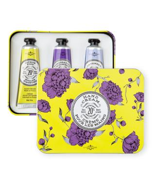 CHARTREUSE HAND CREAM TRIO TIN