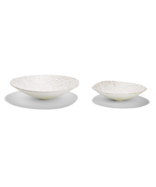 PATTERN SERVING BOWL - SMALL