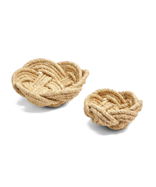THERA HAND WOVEN ROPE BOWL - LARGE