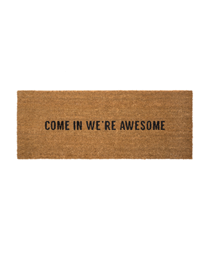 WERE AWESOME DOORMAT