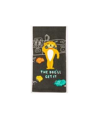 THE DOGLL GET IT PRINTED DISH TOWEL