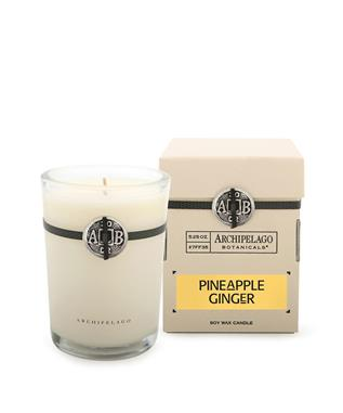 SIGNATURE PINEAPPLE GINGER SOY CANDLE