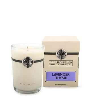 SIGNATURE LAVENDAR THYME SOY CANDLE
