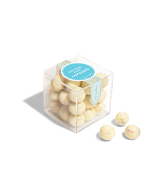 BIRTHDAY CAKE CARAMELS SMALL CANDY CUBE