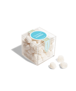 CHAMPAGNE BUBBLES SMALL CANDY CUBE