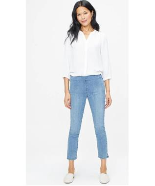 PULL ON SKINNY ANKLE W SS SLIT
