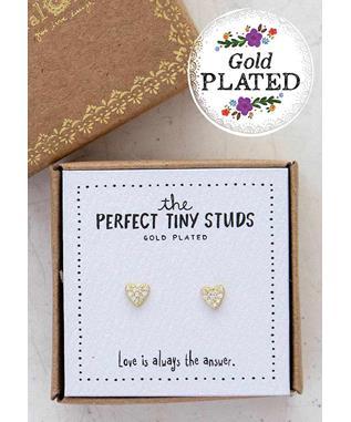 Heart Perfect Tiny Studs