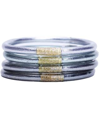 MOON ALL WEATHER BANGLES (SET OF 4) SZ SMALL
