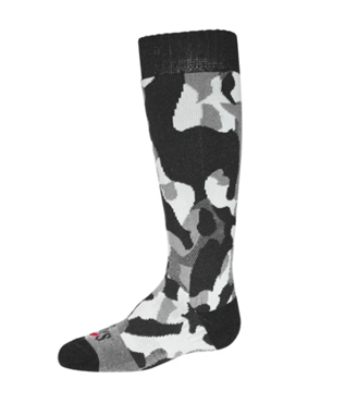B TEXTURED CAMO MID VOLUME SOCK