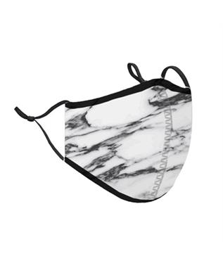 ONE SIZE FITS MOST MARBLE FACE MASK