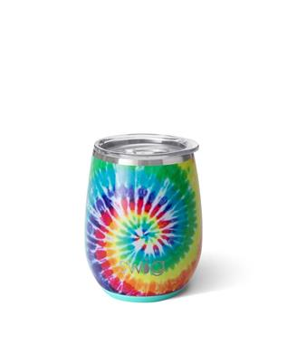 14 OZ STEMLESS CUP SWIRLED PEACE