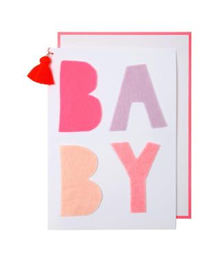 Pink Baby Greeting card