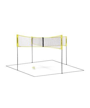 CROSSNET FOUR SQUARE VOLLEYBALL NET